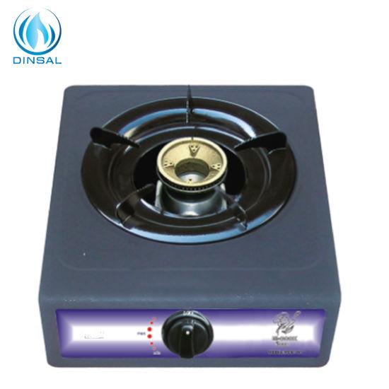 Cheapest Single Burner Cast Iron Burner Gas Cooker (DS-GS102N)