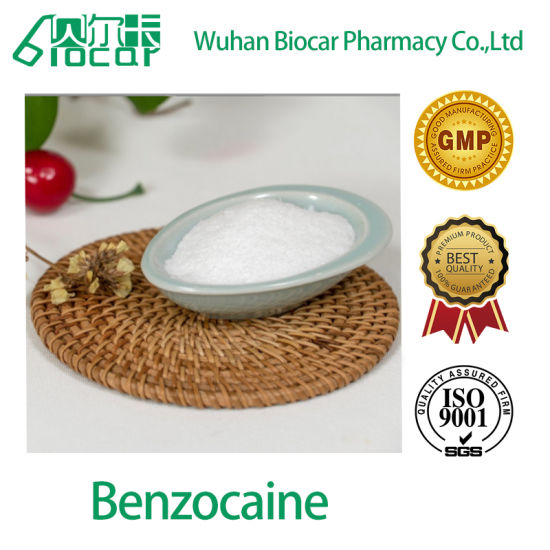 Manufacturer Supply Local Anesthetic Drug Benzocaine CAS 94-09-7