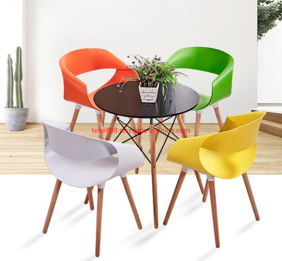 Popular Office Waiting Room Coffee Table Set Modern Wooden Round Dining Table With Chair China Office Furniture Office Table Made In China Com