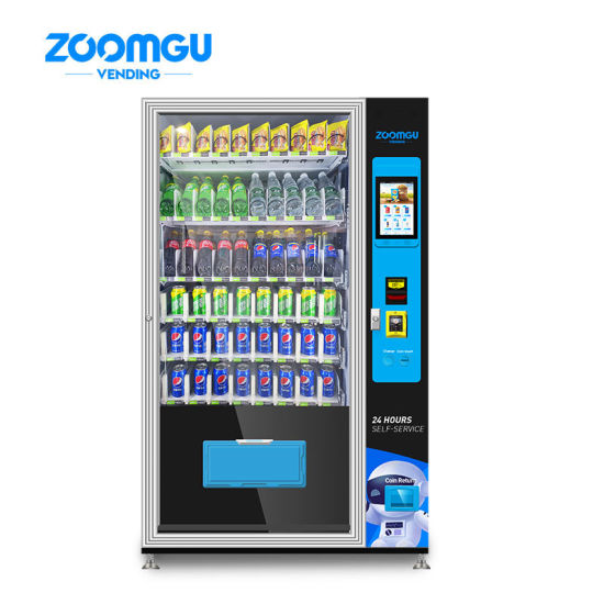 Zg-Csc-10c (V12) Automatic Snack Drink Vending Machine