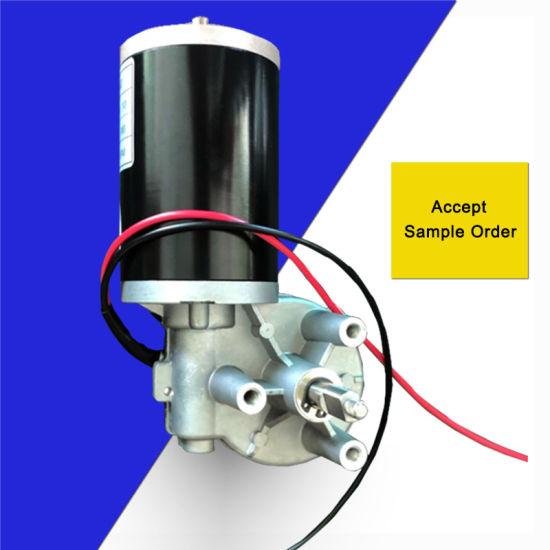 12V 24V 48V DC Gear Brushed Motor with 63mm 25W 60W 90W 120W Electric Motors