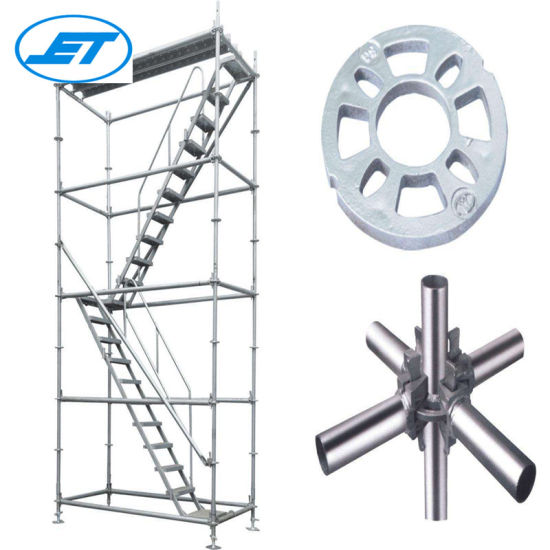 OEM Size Requirement Ringlock Scaffolding Tower Passageway
