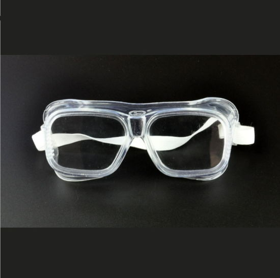 Work Protection Goggles Protective Windproof Riding Site Dustproof White Lens Protective Glasses pictures & photos
