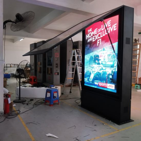 Manufacturer Outdoor P3.91 1250 X 1750 Double Sided LED Digital Signage