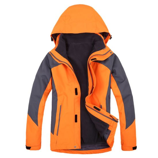 Rainproof Windproof Men Warm Winter Garment pictures & photos