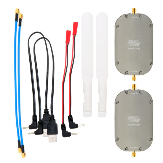 Sunhans Esunrc Dual-Band 2W 2.4GHz&5.8GHz Mini WiFi Booster for Drone Network Wireless Signal Amplifying Extender