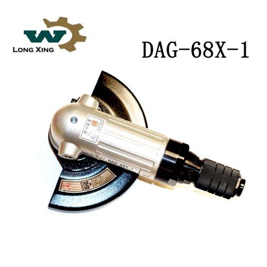 "Dag-6sx-1 7"" Super Flexible Handle Air Tool Sander Crown Pneumatic Angle Grinder"
