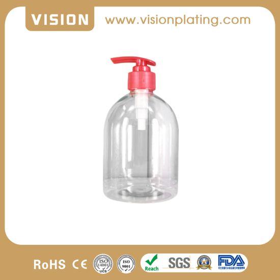 500ml Boston Round Fine Mist Clear Disinfection Sprayer Bottle Plastic PLA Bottle with Perfume Mist Spray
