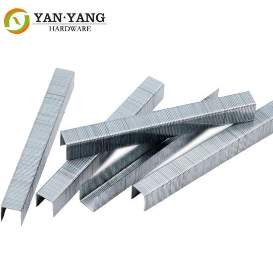 Furniture Hardware Chinese Staple 22ga Industrial Nail 8010