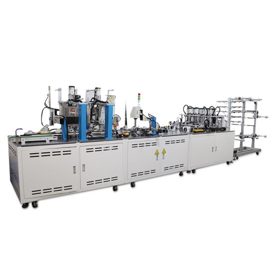 Factory Direct Sale Face Mask Making Machine Full Automatic Cup Mask Machine Cup Mask Making Machine N95 with CE Certification