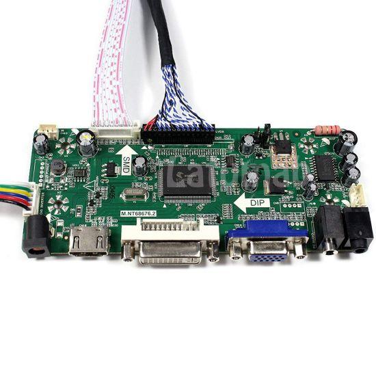 LED screen Controller Driver Board for BT156GW01 V.2 HDMI+DVI+VGA M.NT68676.2