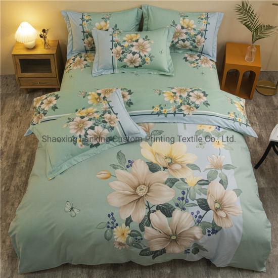 Wholesale Custom Printed Bedding Set Big Brand Bed 100% Cotton Wholesale Bedding Set 3D Bedding Set