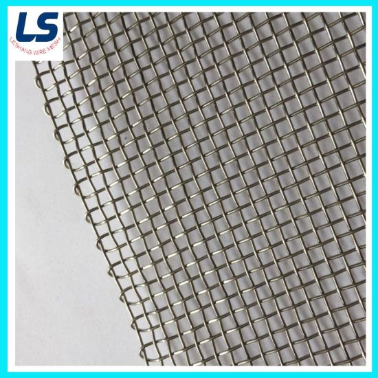 Galvanized and Stainless Steel Woven Wire Mesh