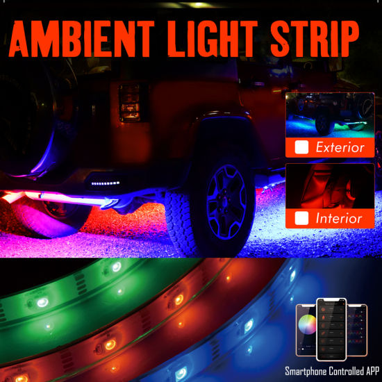 Rgbw Led Ceiling Strip Lights Custom Car Exterior Light Strip China Led Strip Light Strip Light Made In China Com