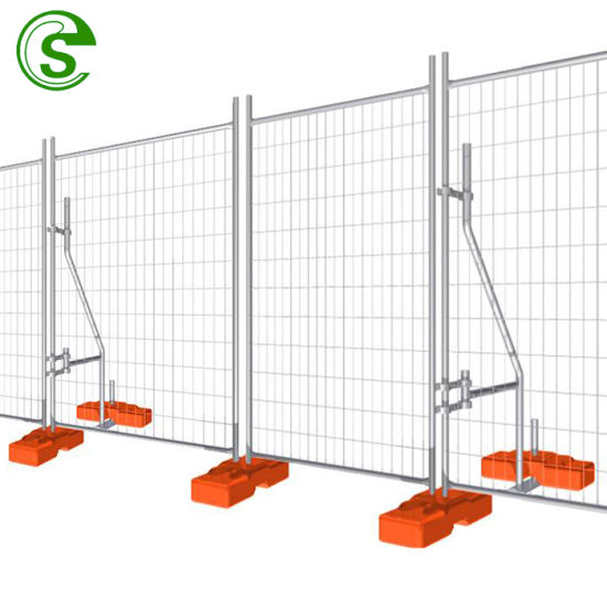 Wholesaler Hot DIP Galvanized Temporary 6FT Fencing Panels for Dogs