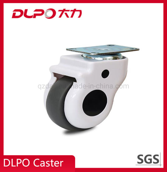 Dlpo Anti-Static Rubber Castor Wheel for Medical ICU Hospital Bed