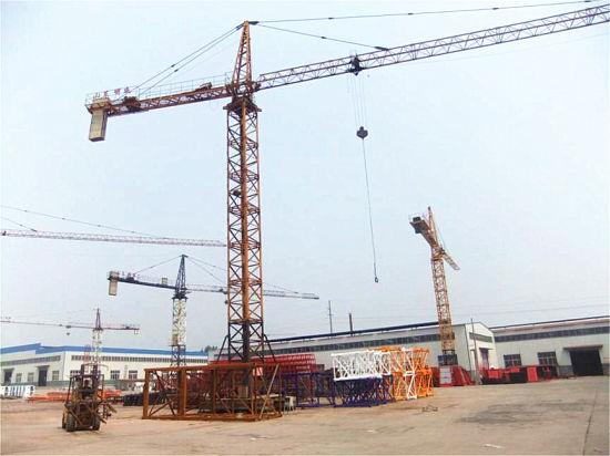 Mobile Self-Climbing Tower Crane Qtz250h12 (H3/36B)