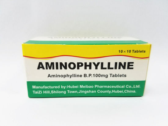 Western Medicine Aminophylline Tablet B. P. 100mg pictures & photos