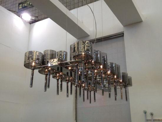 Modern Cognac Glass Pendant Lamp (1127S-26)