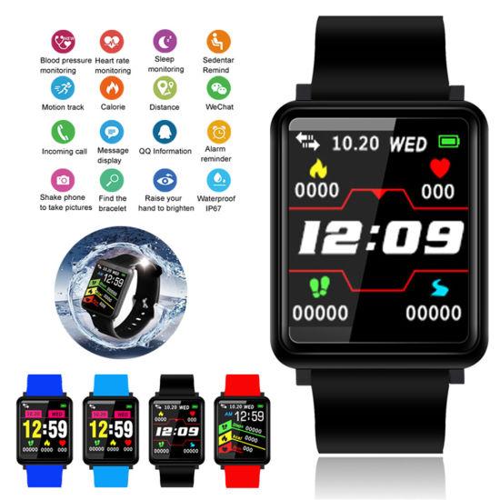 China New Fashion Factory Bluetooth Waterproof Support Sports F1 Smart Watch GPS Tracker Long Standby Time - China Smart Watch and GPS Tracker Smart Watch price