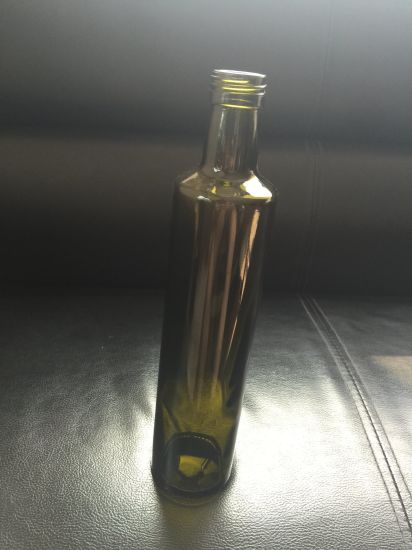 Olive Oil Bottle, Green Bottle, Oil Bottle, Square Bottle pictures & photos