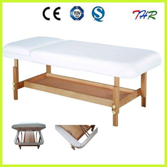 Wooden Adjustable Examination Bed (THR-WTS001) pictures & photos