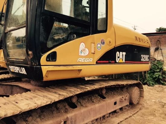 Secondhand Construction Machinery Japan Made Cat 320c Excavator for Sale pictures & photos