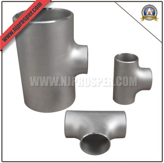 Stainless Steel Wp316 Reducing Tee (YZF-E237)