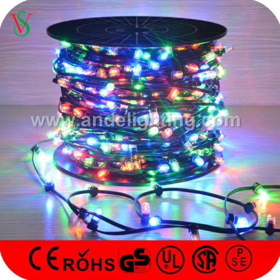 dc12v low voltage 100m 1000leds christmas clip lights for tree decoration