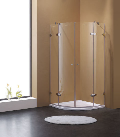 China Sector Shape Shower Room/Shower Enclosure with Wide Entry ...