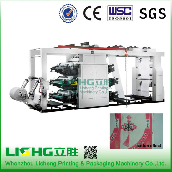 6 Colors High Speed Human Imagine Flexographic Printing Machine pictures & photos