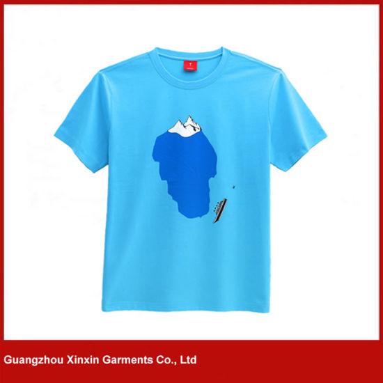 Wholesale Cotton Child Casual T Shirt Design for Boy (R163)