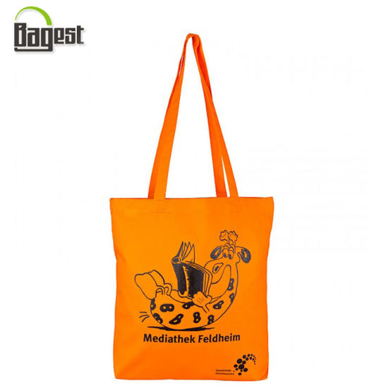 Personalized Design Printed Portable Cotton Canvas Shopping Bag