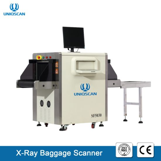 High Speed Inspection Machine Sf5030c Small Size X Ray Security Baggage Scanners Check in Hotel pictures & photos