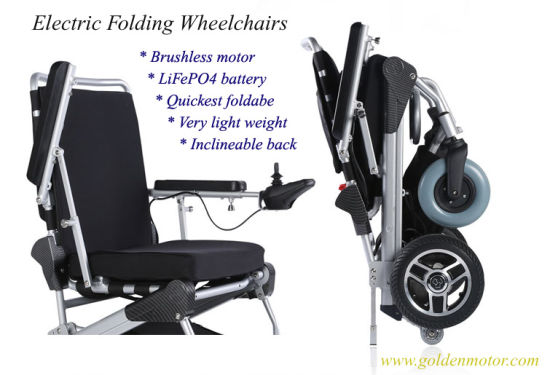 Folding Power Mobility Scooter Ce Approved for The Elderly/Disabled/Handicapped pictures & photos