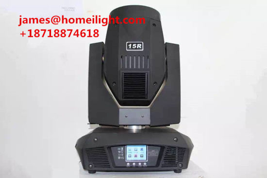 15r 330W Shook His Head with a Pattern of Light Beam (3 in 1) Stage Light Outdoor and Indoor Decoration