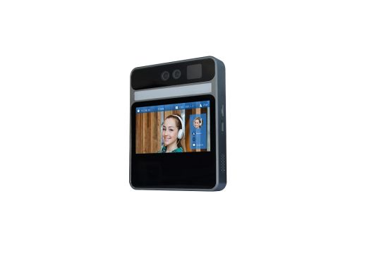 5 Inch Living Face Recognition Terminal Time Attendance Binocular Camera