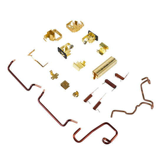 OEM Various Accessories of Motor Brusher Holder Copper Conductor Connection Terminal