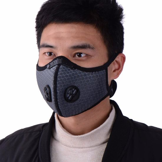Cycling Air Purifying Face Cover Activated Filter Anti Dust PM2.5 Protective