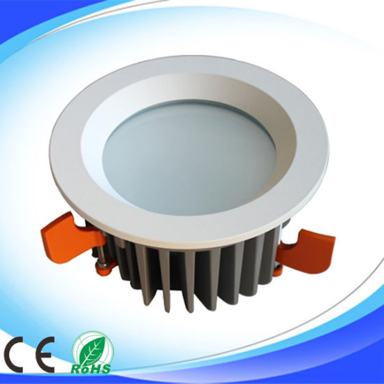 10W 240V Aluminium COB LED Panel Ceiling Spotlight Lamp Bulb Downlight pictures & photos