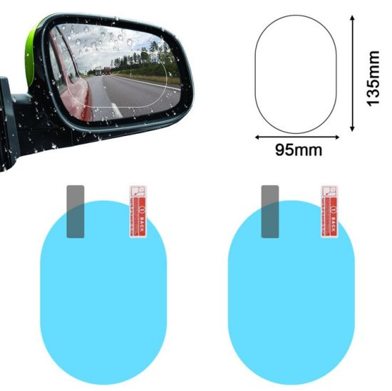 Anti Fog Car Rearview Screen Potectorr Wholesale Transparency Car Gadgets BOPP Anti Fog Film for Car