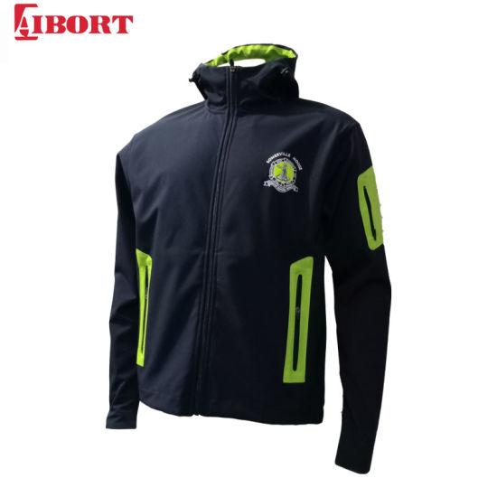 Aibort Factory Wholesale Men's Softshell Hooded Jacket (SFJK-07)