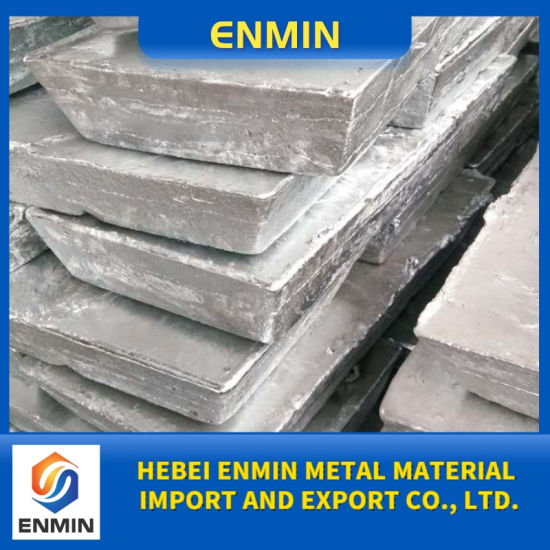 Zinc Alloy Ingot with SGS Export From China High Quality Cheap Price
