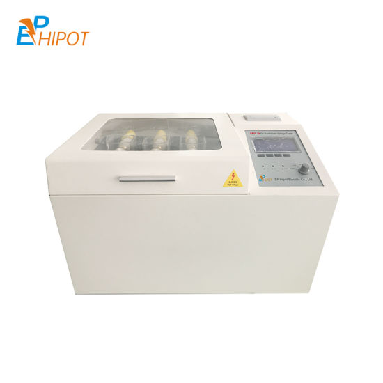 Automatic Dielectric Strength Oil Tester Transformer Oil Bdv Tester Oil Bdv Tester Transformer Oil Test Kit OEM Manufacturer