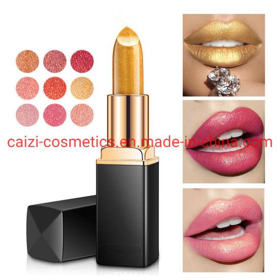 Makeup Lipstick Shining Glitter Color Waterproof OEM/ODM Factory Wholesale