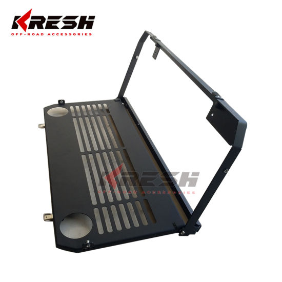 Kresh 4X4 Parts Fordable Table Tailgate Table for Jeep Wrangler Jl