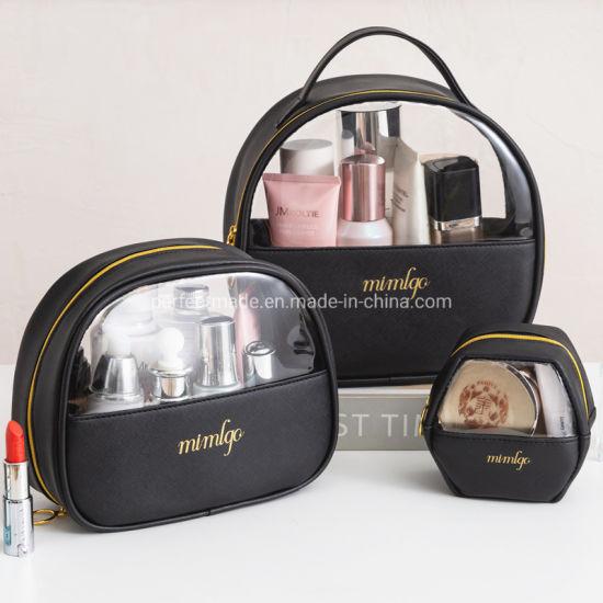 Portable Small Detachable Ladies Fashion Makeup Organizer Travel Cosmetic Bag