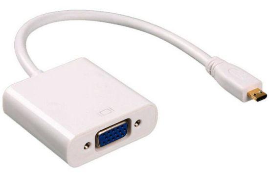 HDMI Micro Male to VGA Female Adapter