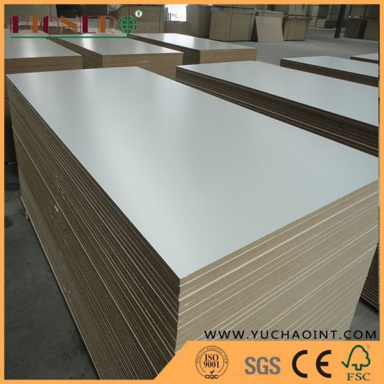 18mm White Melamine MDF for Furniture Good Quality Best Price pictures & photos