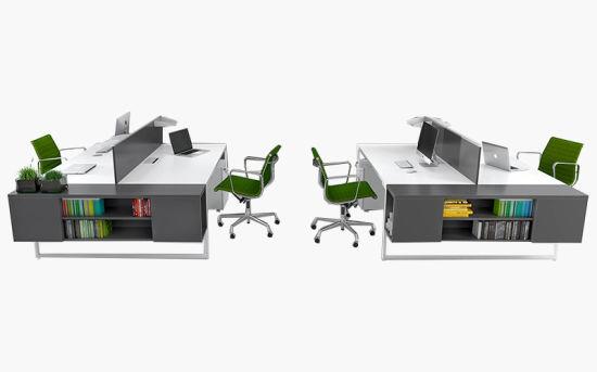 Customized Modern Office Desk Workstation Furniture Office Desk (LEDK1041)
